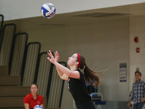 Volleyball Sweeps Lancaster Bible and Hood