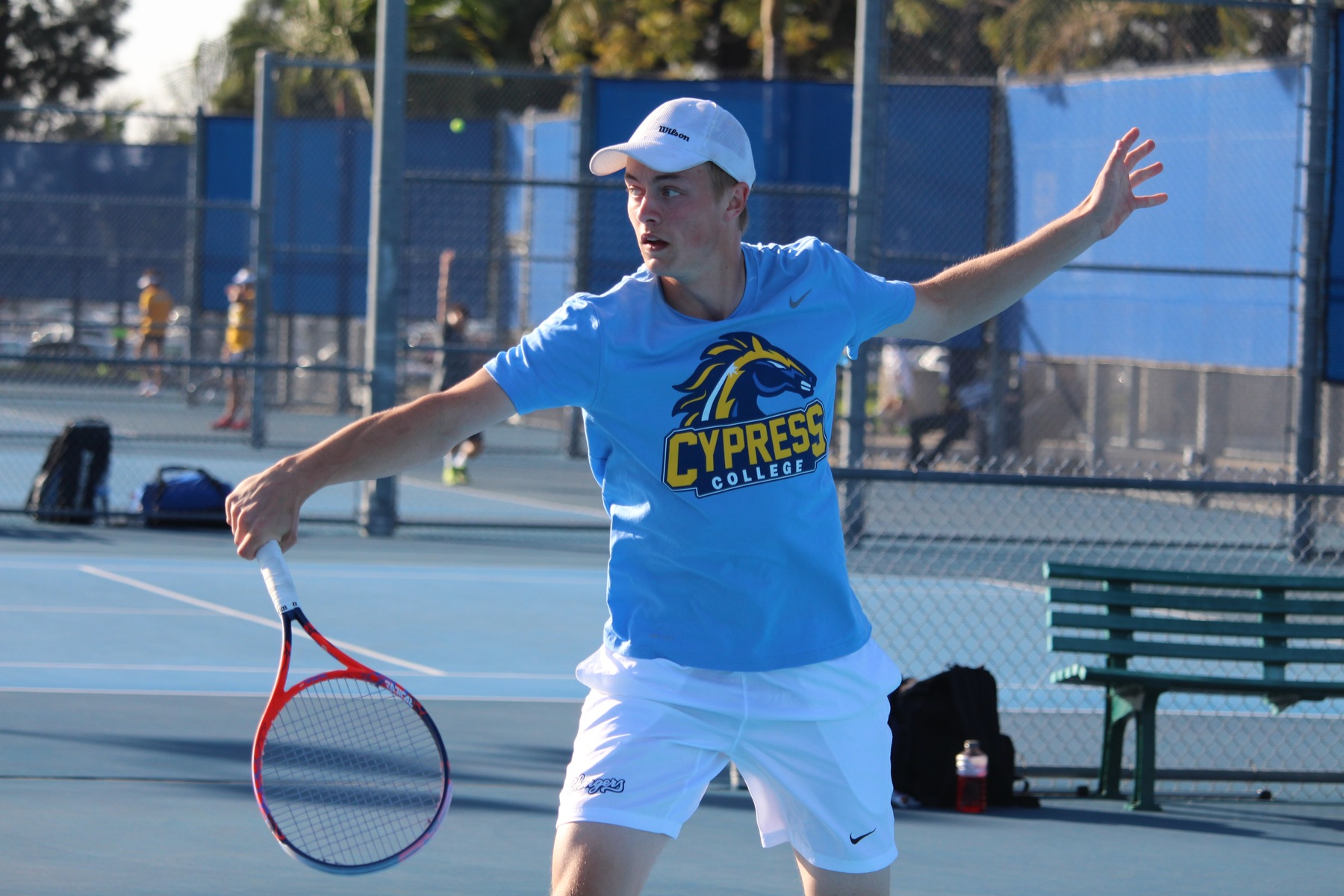 No. 5 Men's Tennis Comes Up Big in Season Opener Against El Camino, 9-0