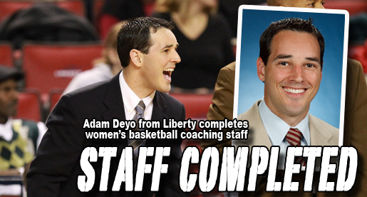 Adam Deyo completes Golden Eagle women's basketball coaching staff