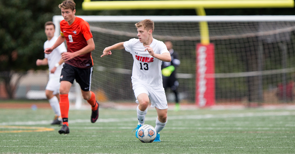 Men's Soccer Downed by York, 5-2