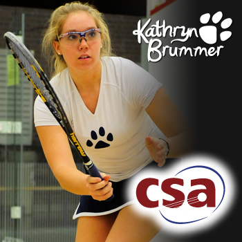 Brummer Collects College Squash Player of the Week Honors