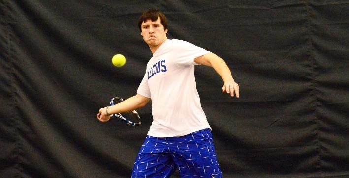 Men's Tennis blanked by Colby in non-conference action
