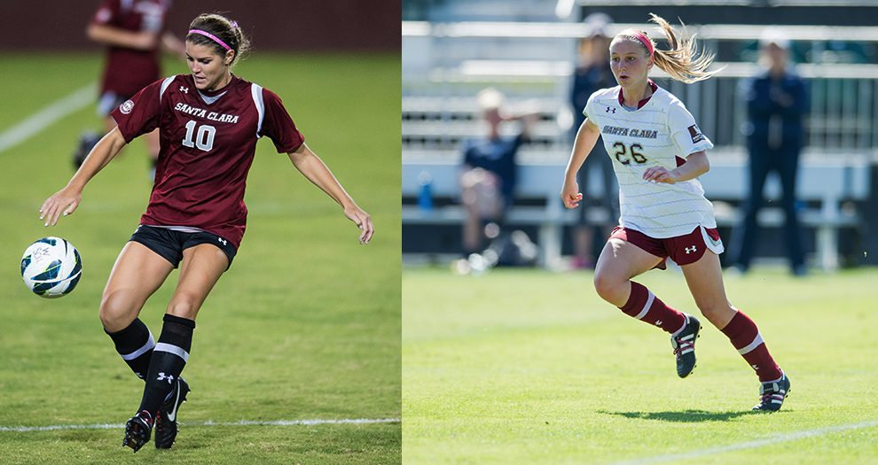 Jesolva and Vass Named WCC Freshman and Honorable Mention