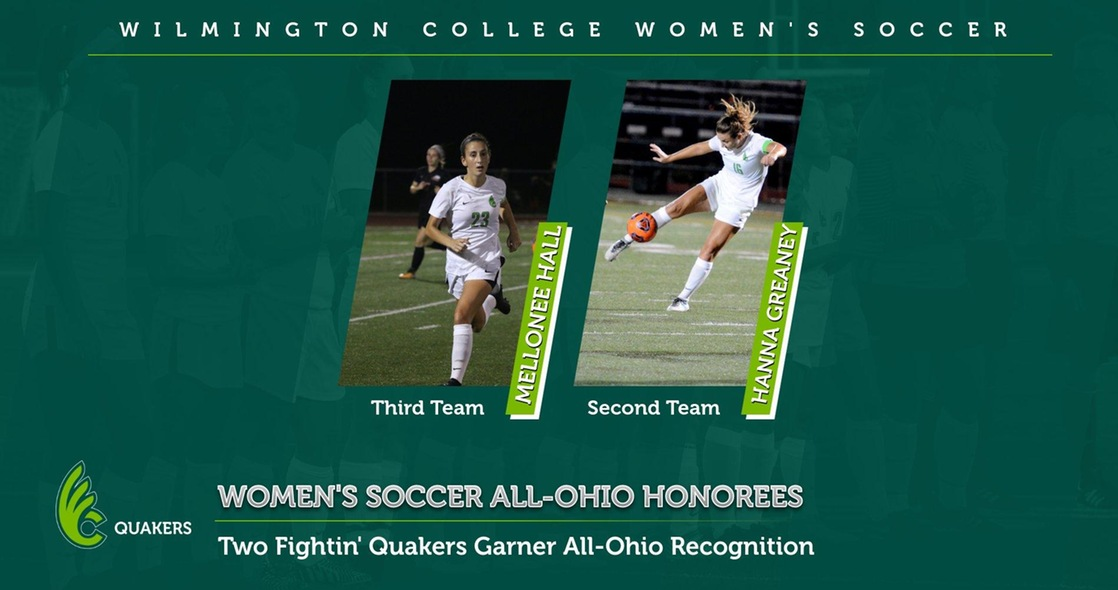Hall and Greaney Earn All-Ohio Honors