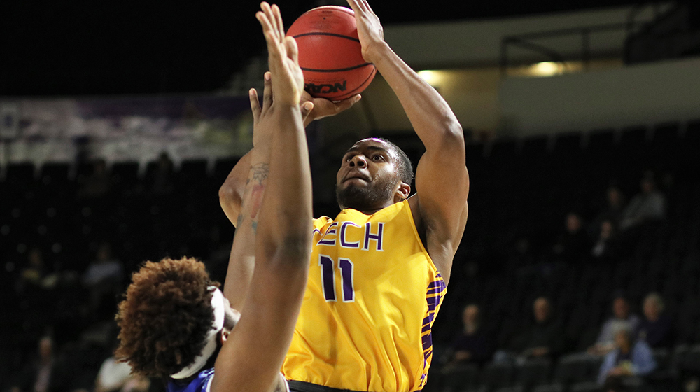 Tech men's basketball team begins four-game home stand with Jacksonville State Thursday