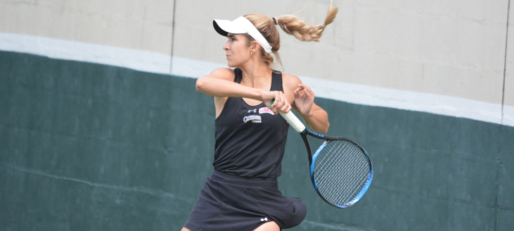 Women's Tennis Becomes Only Undefeated Team In CACC After 4-3 Victory Over Goldey-Beacom