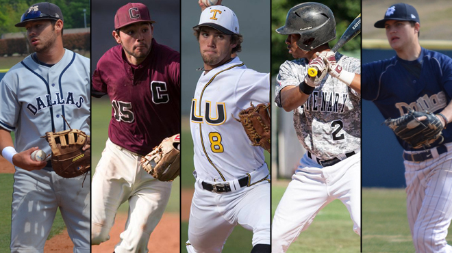 SCAC Lands Five on ABCA All-West Region Team