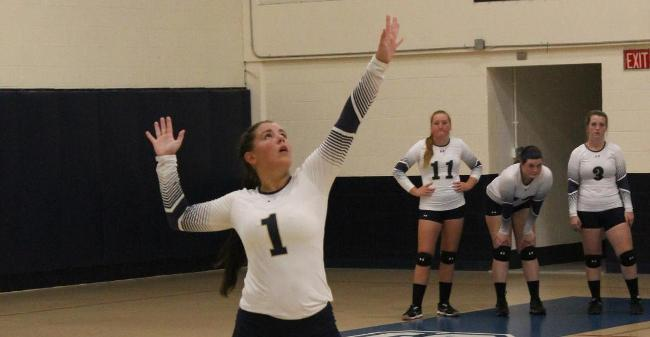 Harrison Records 21 Kills, 23 Digs As Volleyball Drops Non-League Tri-Match To Becker, Lyndon State