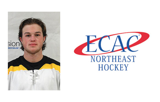 Cobbold Named ECAC Northeast Rookie of the Week