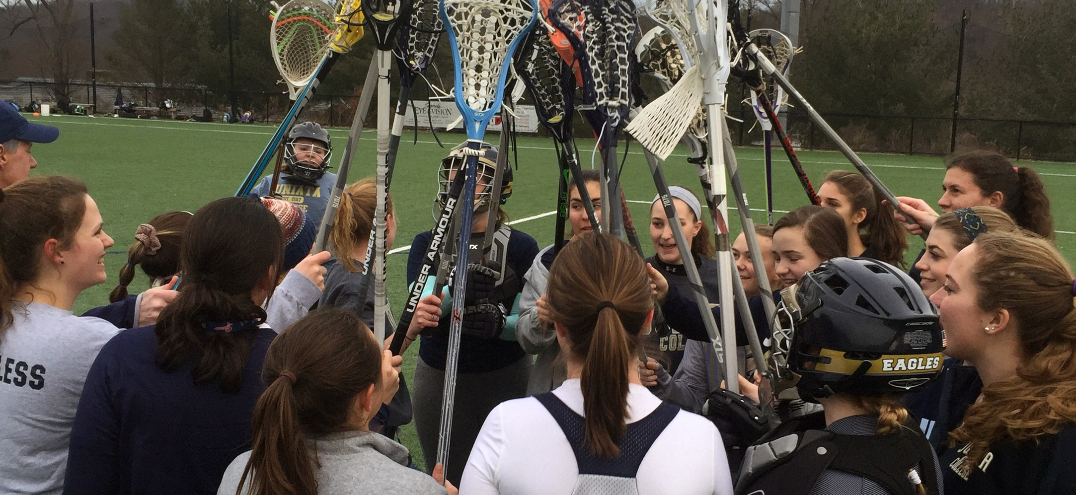 Women's Lacrosse Wins First Ever Game Against Chatham