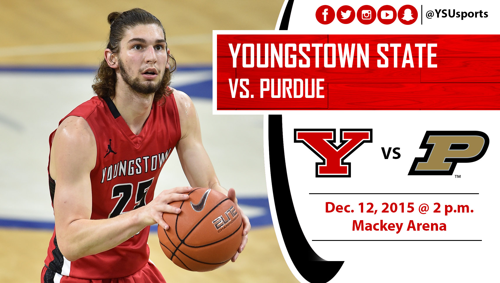 Men's Basketball Visits No. 11 Purdue Saturday Afternoon