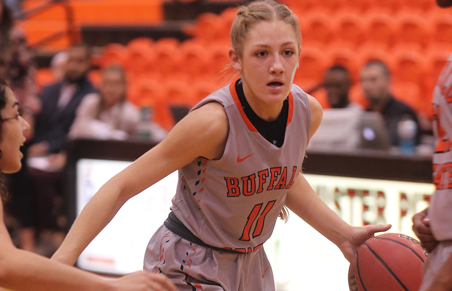 Buffalo State's LeBaron claims SUNYAC Women's Basketball Athlete of the Week honors