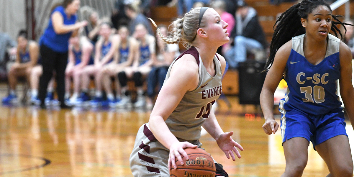 Evangel Women Hang on in OT 74-69 Over Culver-Stockton to Advance to Semifinals