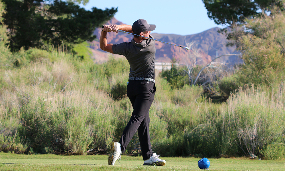 DAVIDSON PACES MEN'S GOLF IN SECOND ROUND OF BIG SKY CHAMPIONSHIP