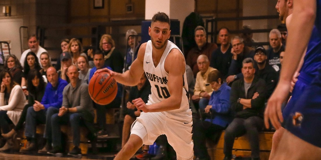Men's Basketball Advances to GNAC Semis, Holds off St. Joseph's (Maine)