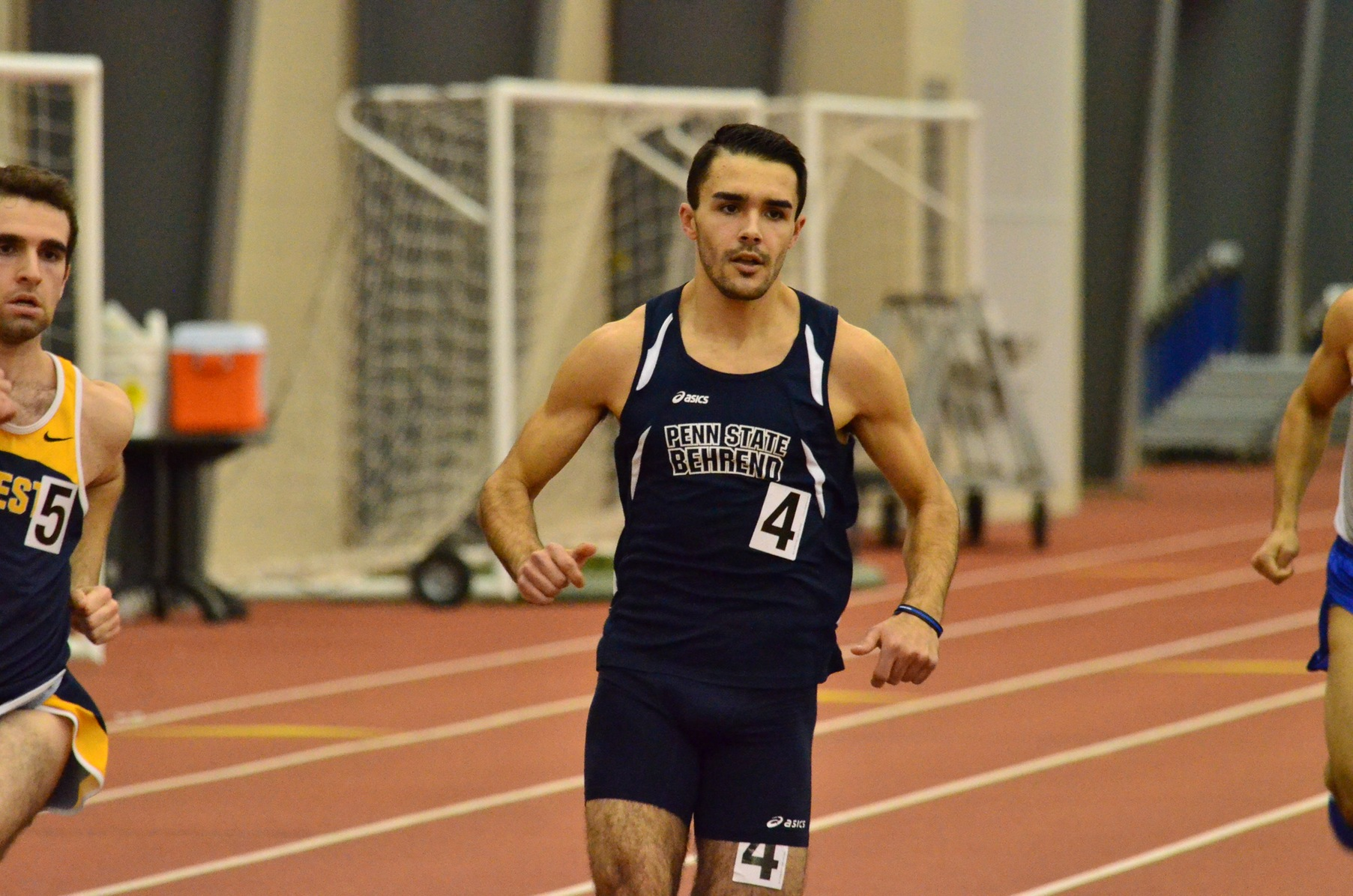 Men's Track and Field Returns to SPIRE