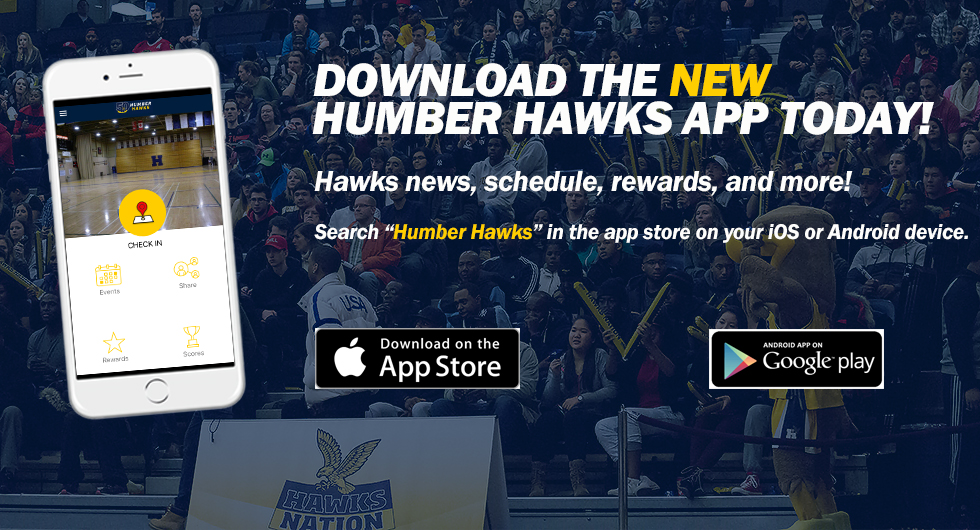 HUMBER ATHLETICS RELEASES NEW MOBILE APP
