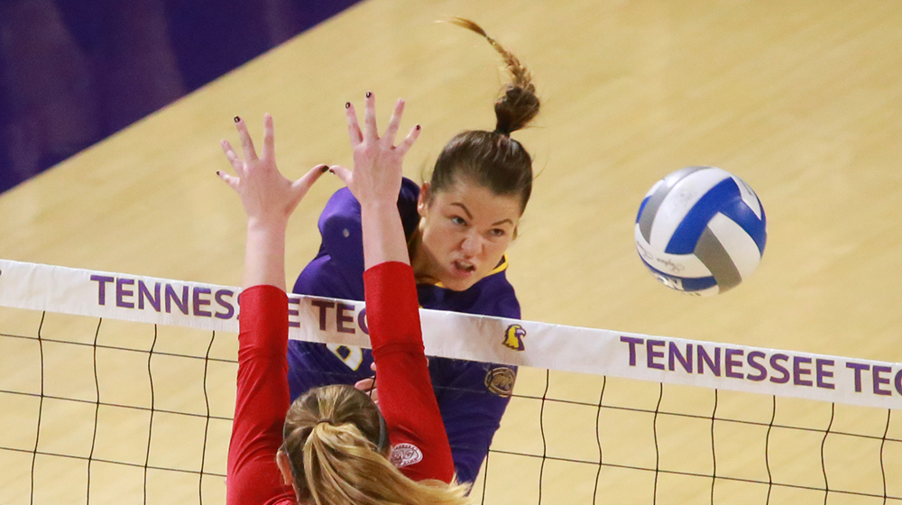 TTU volleyball outlasts Eastern Illinois to sweep first home conference weekend since 2014