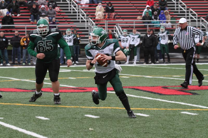Fourth Quarter TDs Give Green Team Spring Game Victory