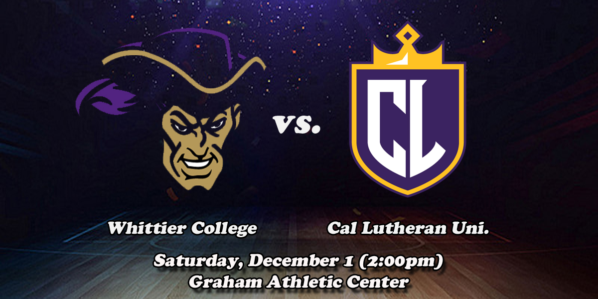 WBB: Whittier vs. Cal Lutheran (By the Numbers)