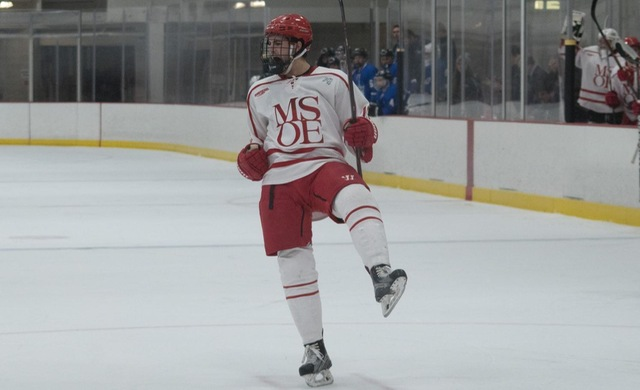 Owens Nets OT Winner For Hockey at Bethel