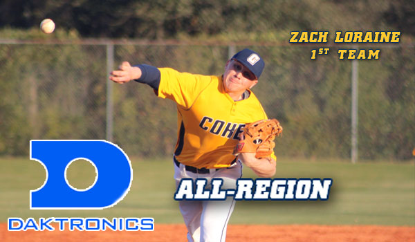 Coker's Loraine Named Daktronics First Team All-Region