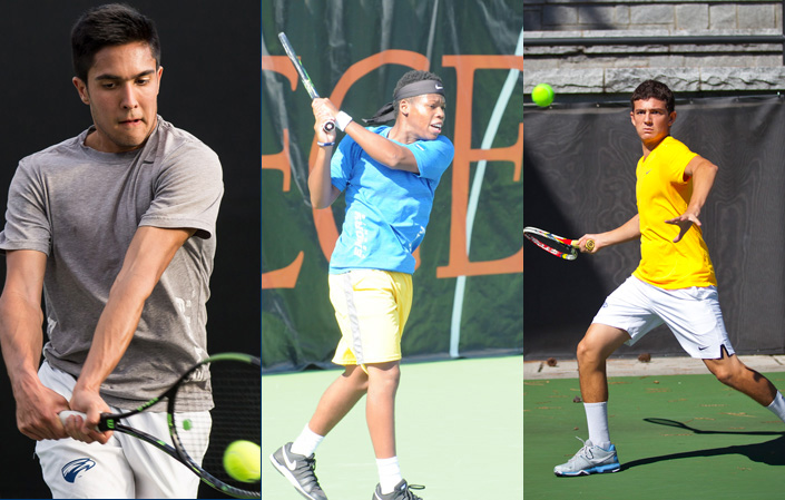 Emory Men's Tennis Trio To Compete At ITA Oracle Cup