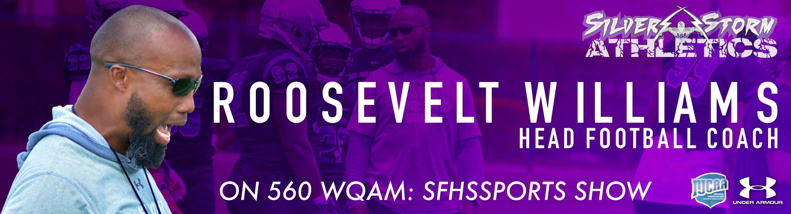 Roosevelt Williams Joins Larry Blustein Radio Show On 560 WQAM