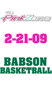 Babson Basketball To Host Pink Zone Event For Cancer Reasearch