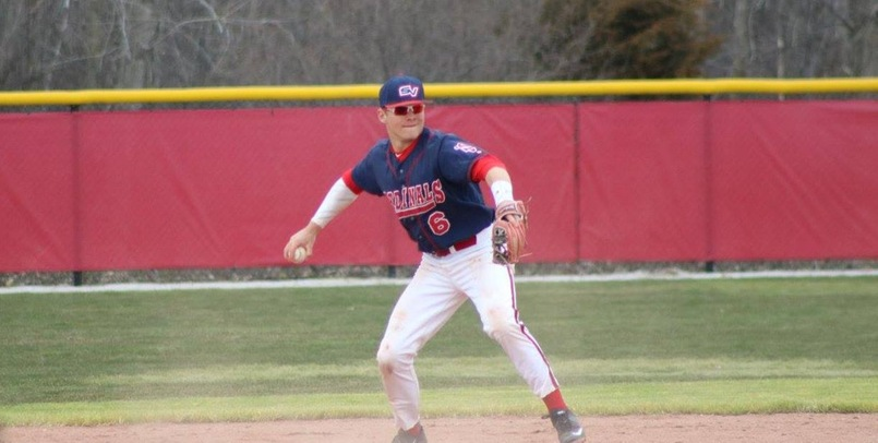 Jordan Swiss went 2-for-3 with 2 RBI and a walk in Saturday's opener at Carson-Newman...