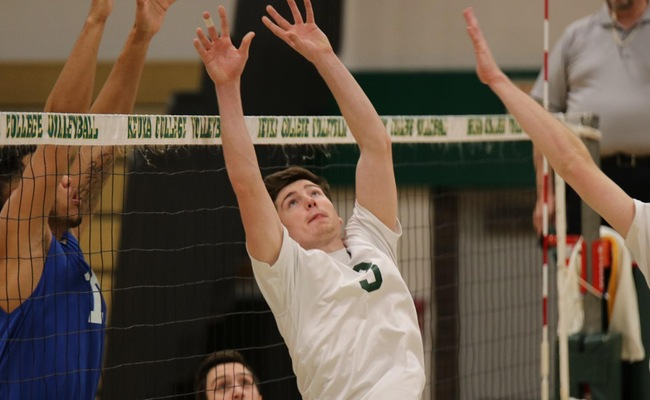 Spencer Avery (3) set a new school record with 51 assists on Sunday -- Photo by Abdul Alhumayni