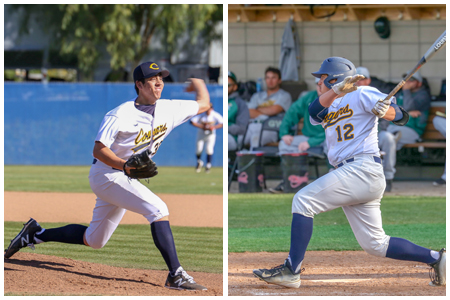 Awards Keep Coming for Cougars Jacob Lopez and Calvin Estrada