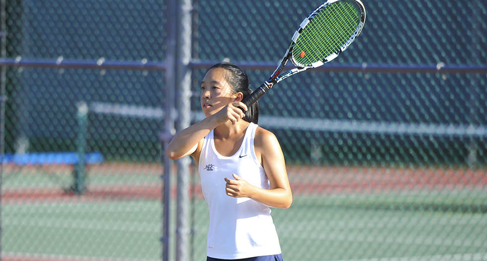 Tennis Shoulders Tough Loss at Connecticut College