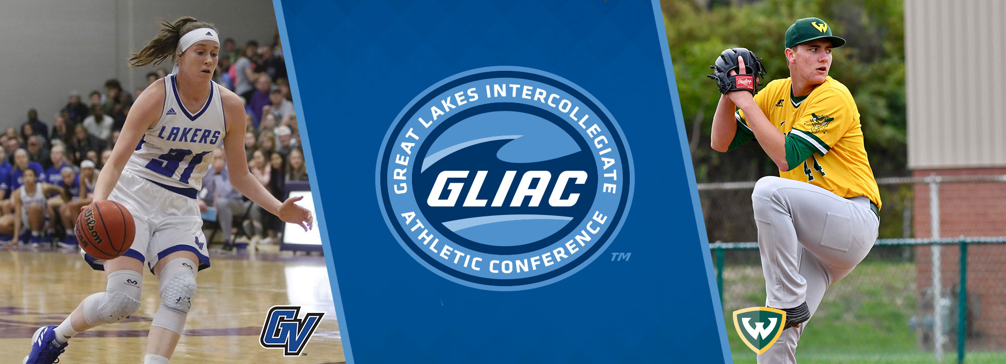Grand Valley State's Boensch, Wayne State's Brown Named 2018-19 GLIAC Scholar-Athletes of the Year