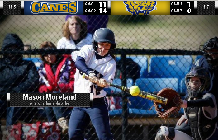 Dominant Lady 'Canes Sweep Fort Valley State