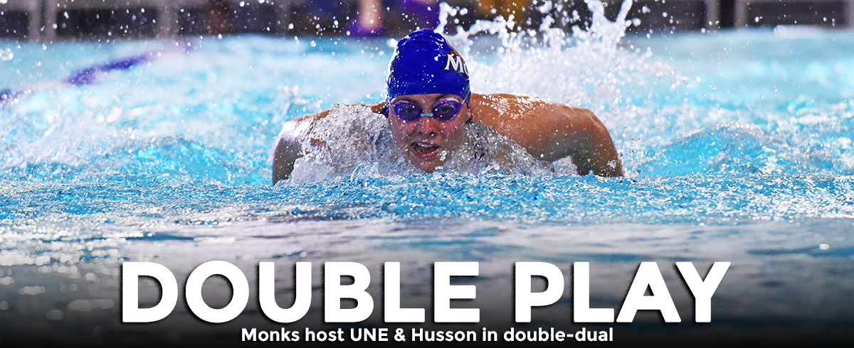 Monks Host UNE & Husson in Double-Dual