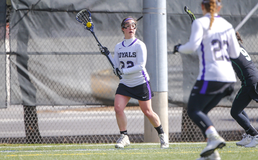 Junior midfielder Meghan Kerr had five goals and an assist on Saturday.