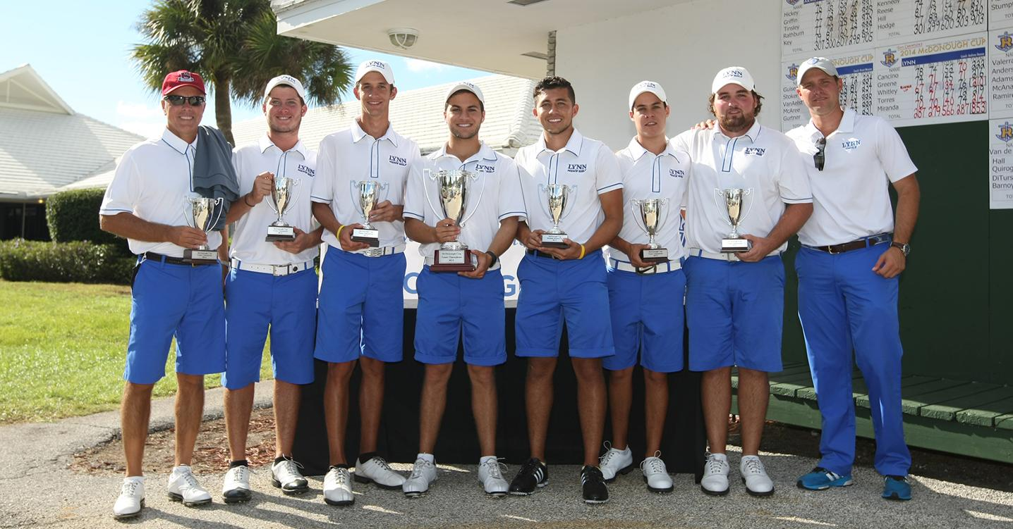 Fall Season Complete: Men's Golf Wins McDonough Cup