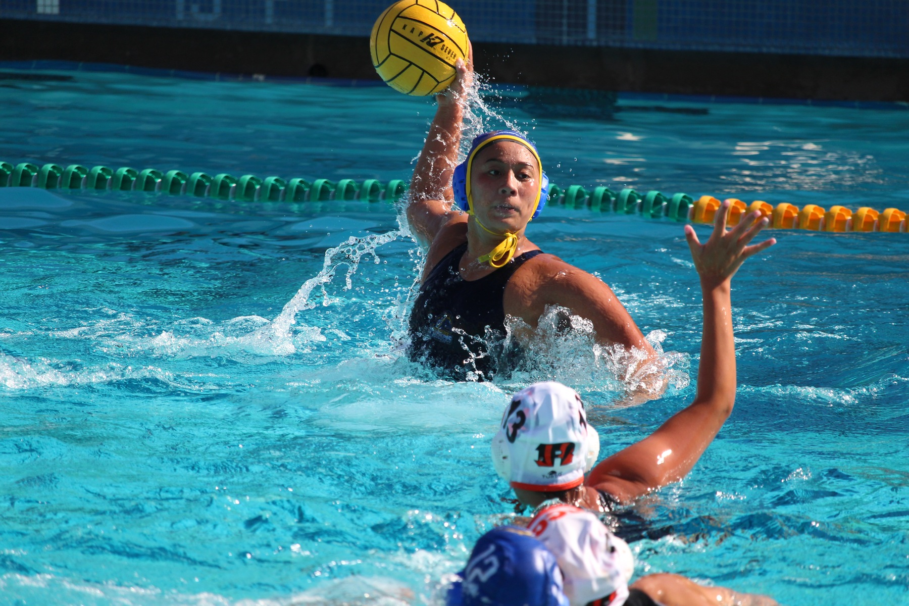 Water Polo Falls to Riverside City, 7-12