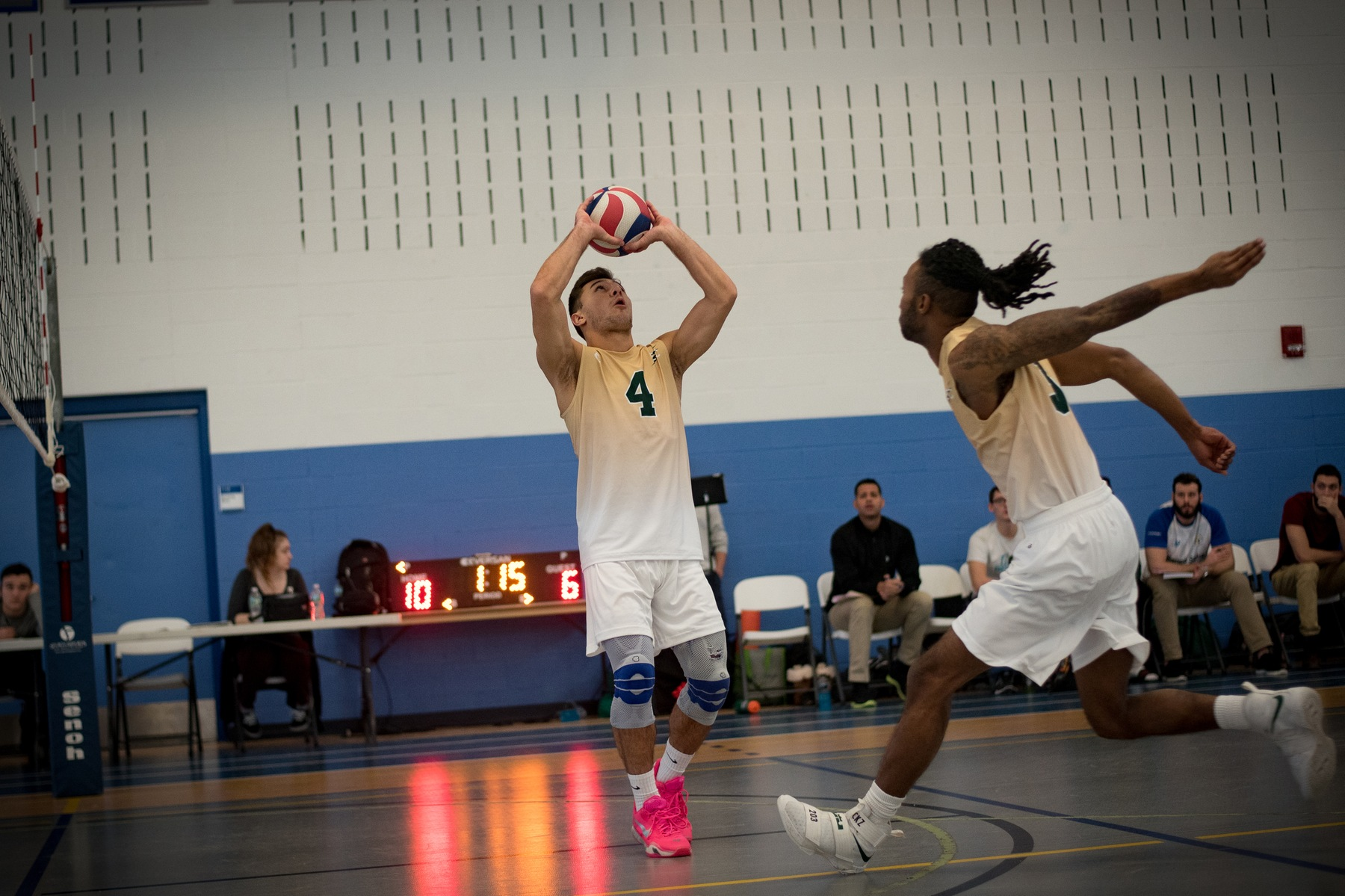 No. 2 Stevens Deals Men's Volleyball First Loss