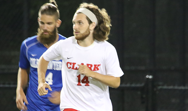 Cougars Charge Past UNE, 3-0