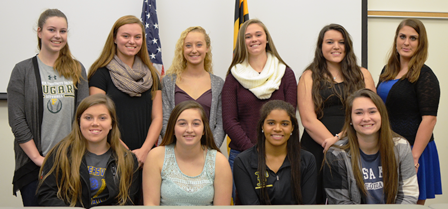 Softball Program Signs 10 to National Letters of Intent
