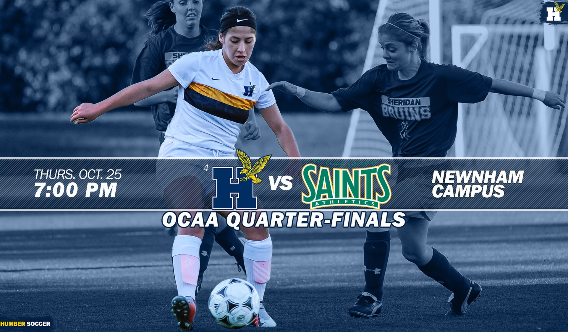No. 4 WOMEN'S SOCCER SET TO FACE ST. CLAIR IN OCAA QUARTER-FINALS
