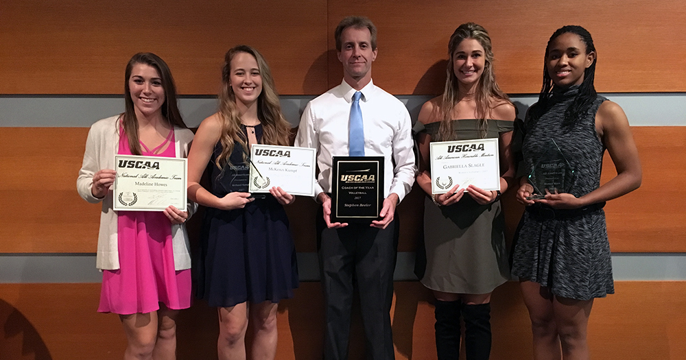 Pomeroy Volleyball Shines at USCAA Banquet