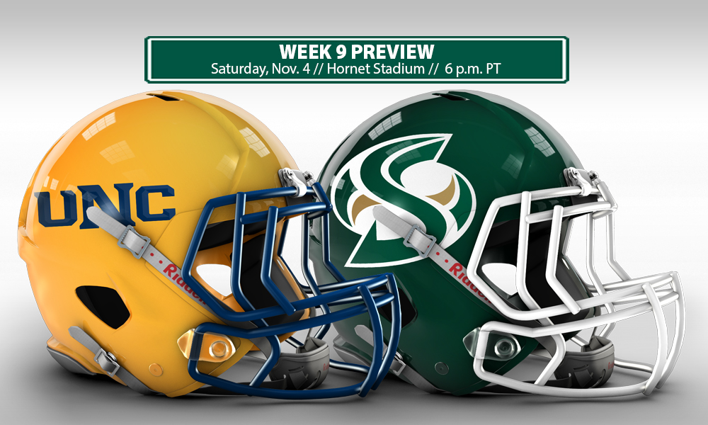 FOOTBALL BACK AT HORNET STADIUM ON SATURDAY TO FACE NORTHERN COLORADO