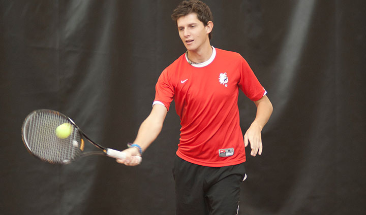 Men's Tennis Rallies For Impressive Regional Victory On The Road