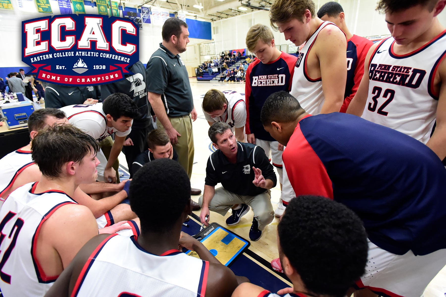 Men's Basketball Hosts First Round of ECAC Tournament