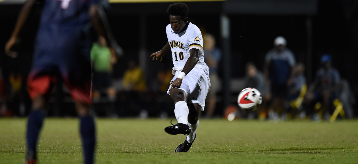 UMBC Men's Soccer Falls to Stony Brook, 2-0 on Wednesday