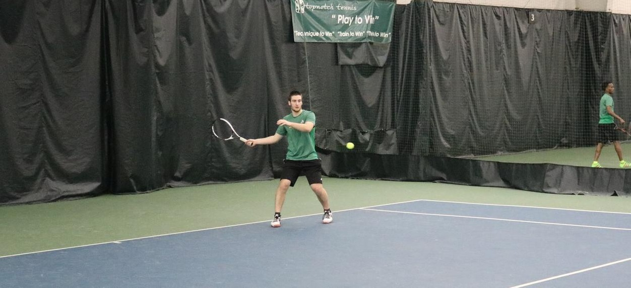 Castleton sweeps Hornet men's tennis in Lyndon's NAC opener