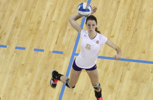 Volleyball falls in gut-wrenching match against Eastern Kentucky 3-2.